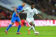 Raheem Sterling of England - England vs. Slovenia - UEFA Euro 2016 Qualifying - Wembley Stadium - London - 15/11/2014 Pic Philip Oldham/Sportimage