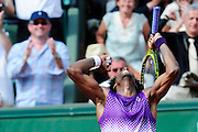 Roland Garros 2011. Paris, France. May 30th 2011..French player Gael MONFILS against David FERRER