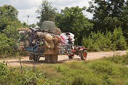 Goods On Truck In Rural Area