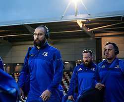 Scott Fardy of Leinster arrives at the stadium <br /> <br /> Photographer Simon King/Replay Images<br /> <br /> Guinness PRO14 Round 10 - Dragons v Leinster - Saturday 1st December 2018 - Rodney Parade - Newport<br /> <br /> World Copyright © Replay Images . All rights reserved. info@replayimages.co.uk - http://replayimages.co.uk