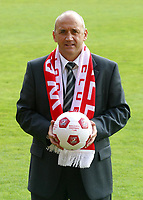 Photo: Dave Linney.<br />Walsall Press Conference. 03/05/2006.<br />New Walsall manager Richard Money.