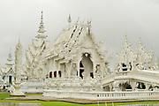 Wat Rong Khun Temple in Chiang Rai, Thailand