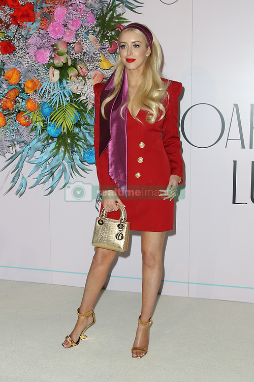 Ahead of Kennedy Oaks Day, the traditional Ladies' Day of the Melbourne Cup Carnival, the prestigious and time-honoured tradition that is the VRC Kennedy Oaks Club Lunch took place at Crown Palladium. 07 Nov 2018 Pictured: Jaimee Belle. Photo credit: Richard Milnes / MEGA TheMegaAgency.com +1 888 505 6342