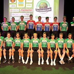 25-02-2020: Wielrennen: Teampresentatie IJsselstreek; Harderwijk<br />Het elite-beloftenteam van de Ijsselstreek is klaar voor het nieuwe seizoen