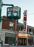 Congress Street with Rialto Theater