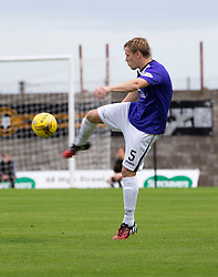 East Fife's Jonathan Page. <br /> East Fife 2 v 1 Elgin City, Ladbrokes Scottish Football League Division Two game played 22/8/2015 at East Fife's home ground, Bayview Stadium.