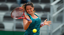 May 14, 2019 - Rome, ITALY - Viktoria Kuzmova of Slovakia in action during her first-round match at the 2019 Internazionali BNL d'Italia WTA Premier 5 tennis tournament (Credit Image: © AFP7 via ZUMA Wire)
