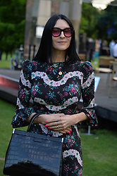 Susie Cave at the Dulwich Picture Gallery's inaugural Summer Party, Dulwich Picture Gallery, College Road, London England. 13 June 2017.
