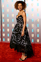 Sophie Okonedo attending the 72nd British Academy Film Awards held at the Royal Albert Hall, Kensington Gore, Kensington, London.