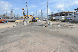 New Haven Rail Yard, Independent Wheel True Facility. CT-DOT Project # 0300-0139, New Haven CT..Photograph of Construction Progress Photo Shoot 14 on 27 August 2012. One of 55 Images Captured this Submission.