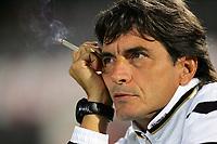 """L'allenatore del Siena Mario Beretta<br /> Siena Trainer Beretta Mario<br /> Italian """"Serie A"""" 2006-07<br /> 14 Oct 2006 (match day 6)<br /> Siena-Messina (3-1)<br /> """"A.Franchi"""" Stadium-Siena-Italy<br /> Photographer Luca Pagliaricci INSIDE"""