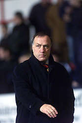 Rangers manager Dick Advocaat at the end of the Dumfermline v Rangers game.
