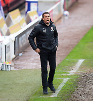 Football - 2020 / 2021 Sky Bet Championship - Barnsley vs Norwich City - Oakwell<br /> <br /> Barnsley manager Valerien Ismael <br /> <br /> Credit :COLORSPORT/BRUCE WHITE