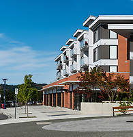 A Commercial/Residential complex in Langford is engineered by Skyline Engineering Ltd of Victoria, BC.