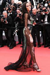 May 22, 2019 - Cannes, Provence-Alpes-Cote d'Azu, France - 72eme Festival International du Film de Cannes. Montée des marches du film ''Roubaix, une lumiere (Oh Mercy!)''. 72th International Cannes Film Festival. Red Carpet for ''Roubaix, une lumiere (Oh Merci!)'' movie.....239726 2019-05-22 Provence-Alpes-Cote d'Azur Cannes France.. Winnie, Harlow, Brown-Young, Chantelle (Credit Image: © Philippe Farjon/Starface via ZUMA Press)