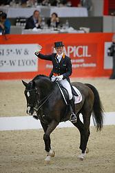 Van Grunsven Anky (NED) - Salinero<br /> CDI-W Lyon 2009<br /> © Dirk Caremans