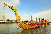 The Royal Barge Procession Dress Rehearsal