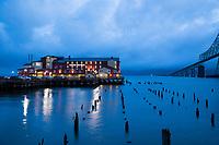 Cannery Pier Hotel, Astoria, Oregon.