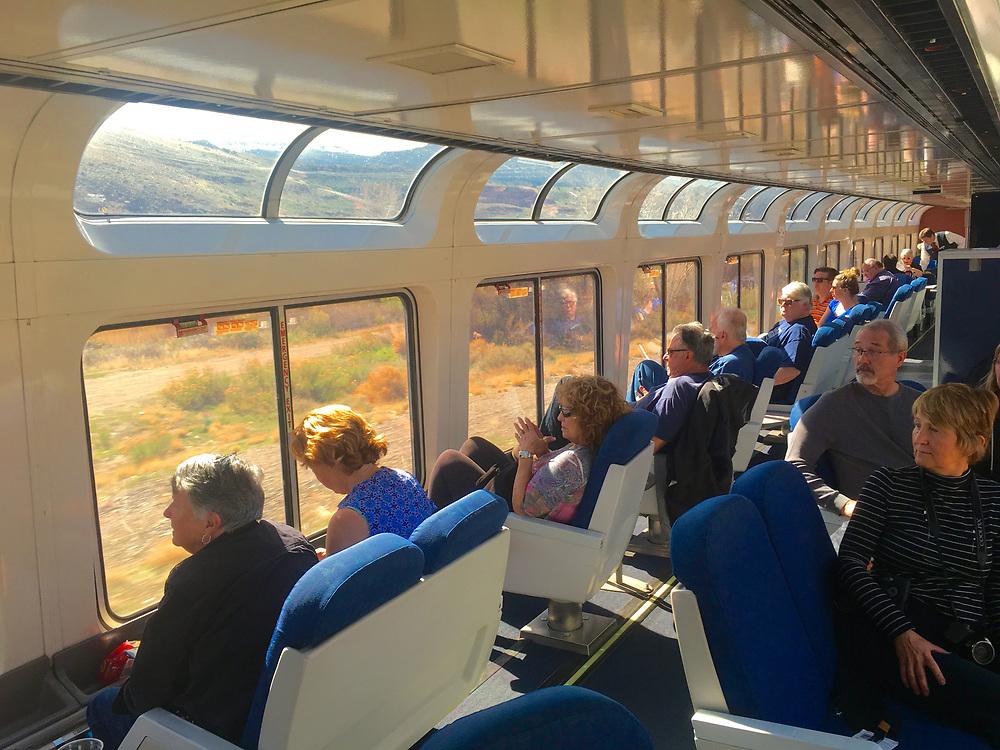 Amtrak Zephyr lounge car views