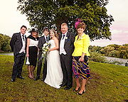 Becky & Thorin's wedding photographs at Woodlands Waters, Lincolnshire.