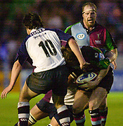 Twickenham, England. Zurich Premiership. Quin's  Ceri JONES, Harlequins vs Rotherham Titans The Stoop Surrey. 16.04.2004. [Mandatory Credit: Peter Spurrier/Intersport-images].