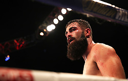 Jono Carroll during the Final Eliminator for IBF Super-Featherweight Champioship at the FlyDSA Arena, Sheffield.