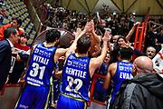 Michele Vitali, Stefano Gentile, Commando Ultra' Dinamo<br /> Oriora Pistoia - Banco di Sardegna Dinamo Sassari<br /> LBA Serie A Postemobile 2018-2019<br /> Pistoia, 04/01/2020<br /> Foto L.Canu / Ciamillo-Castoria