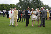 Marcus Broughton-Pipkin, Julien Draper, The Marquess and Marchioness of Hamilton, Glorious Goodwood. 2 August 2007.  -DO NOT ARCHIVE-© Copyright Photograph by Dafydd Jones. 248 Clapham Rd. London SW9 0PZ. Tel 0207 820 0771. www.dafjones.com.