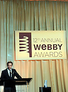 Seth Meyers at the 11th Annual Webby Awards  held at Cipriani's Downtown on June 10, 2008