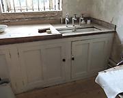 Basement laundry room 19th Century.