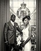 Sheldene & André Wedding photographs at Nottingham Council House.