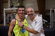 DESCRIZIONE : Roma LNP A2 2015-16 Acea Virtus Roma Stella Azzurra<br /> GIOCATORE : Ennio Leonzio Germano D'Arcangeli<br /> CATEGORIA : coach allenatore pre game ritratto<br /> SQUADRA : Acea Virtus Roma<br /> EVENTO : Campionato LNP A2 2015-2016<br /> GARA : Acea Virtus Roma Stella Azzurra<br /> DATA : 16/09/2015<br /> SPORT : Pallacanestro <br /> AUTORE : Agenzia Ciamillo-Castoria/G.Masi<br /> Galleria : LNP A2 2015-2016<br /> Fotonotizia : Roma LNP A2 2015-16 Acea Virtus Roma Stella Azzurra amichevole