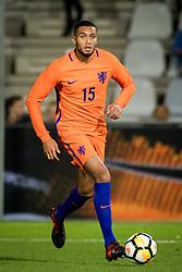 Jairo Riedewald of Jong Oranje during the EURO U21 2017 qualifying match between Netherlands U21 and Latvia U21 at the Vijverberg stadium on October 06, 2017 in Doetinchem, The Netherlands