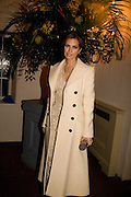 DASHA ZHUKOVA, Chaos Point: Vivienne Westwood Gold Label Collection performance art catwalk show and auction in aid of the NSPCC. Banqueting House. London. 18 November 2008<br /> *** Local Caption *** -DO NOT ARCHIVE -Copyright Photograph by Dafydd Jones. 248 Clapham Rd. London SW9 0PZ. Tel 0207 820 0771. www.dafjones.com