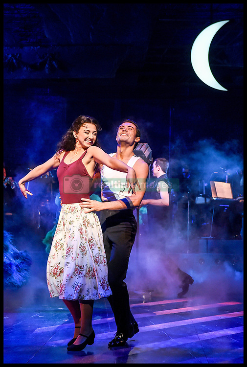 April 17, 2018 - London, United Kingdom - Strictly Ballroom the Musical - call. Piccadilly Theatre...Johny Labey, Zizi Strallen and Will Young join the cast of Baz Luhrmann's Strictly Ballroom the Musical at a press preview performance at the Piccadilly Theatre in London. (Credit Image: © Pete Maclaine/i-Images via ZUMA Press)