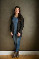 Julia C senior portrait session.  ©2017 Karen Bobotas Photographer