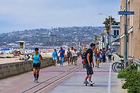 Ocean Front Walk, Mission Beach