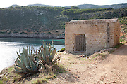 Levanzo island, the Aegadian Islands (Isole Egadi), western Sicily, Italy.