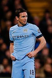 Frank Lampard of Manchester City looks dejected - Photo mandatory by-line: Rogan Thomson/JMP - 07966 386802 - 06/04/2015 - SPORT - FOOTBALL - London, England - Selhurst Park - Crystal Palace v Manchester City - Barclays Premier League.