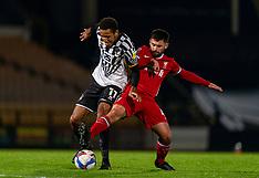 2020-11-10 Port Vale v Liverpool U21