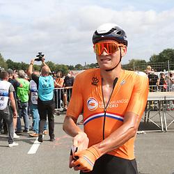 26-08-2020: Wielrennen: EK wielrennen: Plouay<br /> Mathieu van der Poel26-08-2020: Wielrennen: EK wielrennen: Plouay