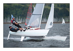 Largs Regatta Week - August 2012..Hurricane 5.9 154 - Dylan Brown and Brian Young