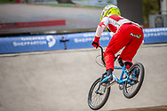 #66 (PALMER James) CAN at Round 2 of the 2020 UCI BMX Supercross World Cup in Shepparton, Australia.