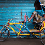 Rickshaw Wallah, Chennai, India