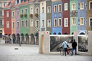 POZNAN, POLAND - 03/11/2008 - TRAVEL, Poznan streetscene at the Stare Miasto, old market..© Christophe VANDER EECKEN