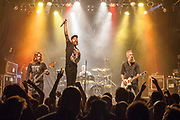 In Flames at The Phoenix Concert Theatre.<br /> <br /> Toronto. Canada<br /> November 2019