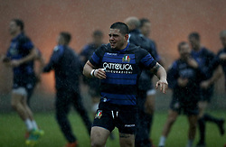 November 20, 2018 - Rome, Italy - Rugby Italy training - Cattolica Test Match.Oliviero Fabiani at Giulio Onesti Sport Center in Rome, Italy on November 20, 2018. (Credit Image: © Matteo Ciambelli/NurPhoto via ZUMA Press)