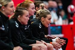 Nikita van der Vliet of Netherlands during the Women's EHF Euro 2020 match between Netherlands and Germany at Sydbank Arena on december 14, 2020 in Kolding, Denmark (Photo by RHF Agency/Ronald Hoogendoorn)
