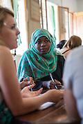 VSO ICS volunteer Khadyai Omar taking part in the ICS ACD at Likotwa school as part of the VSO / ICS Elimu Fursa project (Opportunities in Education) Lindi, Lindi region. Tanzania.