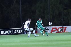 SOUTH AFRICA: GAUTENG: Bidvest Wits player Sfiso Hlanti clash with Bloemfontein Celtic player  Menzi Masuku during the Absa Premiership at Bidvest Stadium Gauteng.<br />876<br />10.11.2018<br />Picture: Itumeleng English/African News Agency (ANA)